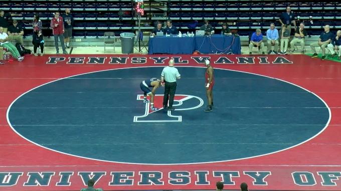 174 f, Mark Hall, PSU vs Josef Johnson, Harvard
