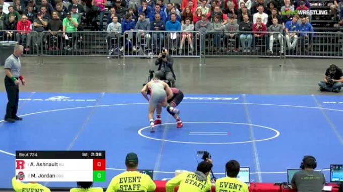 149 lbs Final - Anthony Ashnault, Rutgers vs Micah Jordan, Ohio State