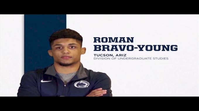 133lbs Dual: Roman Bravo-Young, Penn State vs Tim Rooney, Kent State