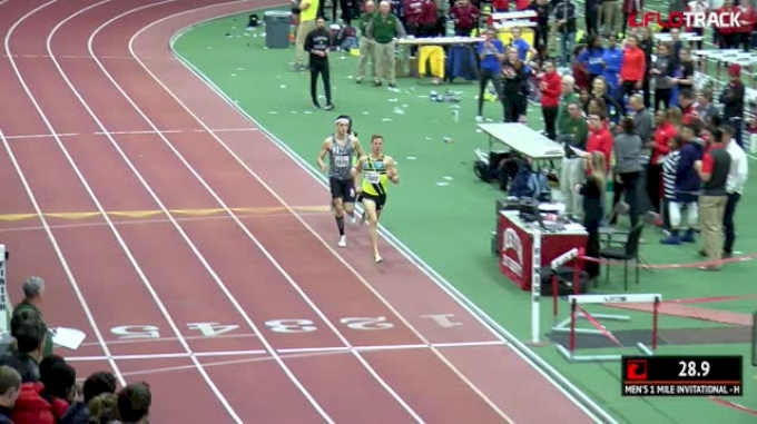 Men's Mile Invitational, Heat 1 - Edward Cheserek 3:49.44, #2 ALL-TIME!