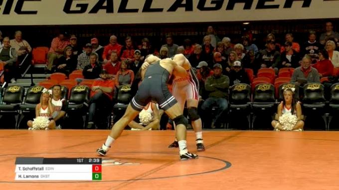 Ty Schoffstall, Edinboro vs Hestin Lamons, Oklahoma State