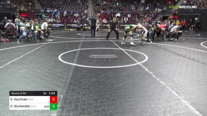 106 lbs Round Of 64 - Cody Kaufman, Greensburg Salem vs Carmen Giumarello, Clearview