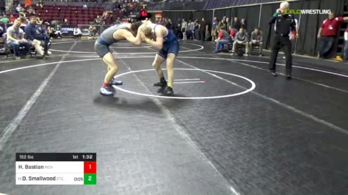 152 lbs Round Of 32 - Hayden Bastian, Richmond vs Derrick Smallwood, ETC
