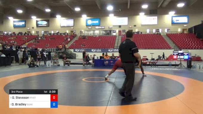 125 3rd - Gable Steveson vs Dom Bradley