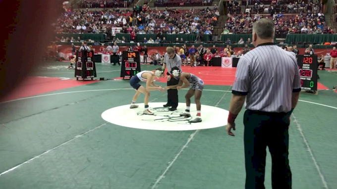 106 r1, Caleb Hernandez vs Jacob Decatur, CVCA