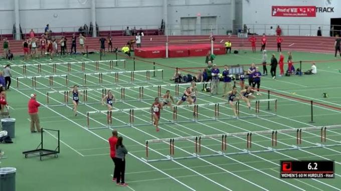 Women's 60m Hurdles, Heat 4