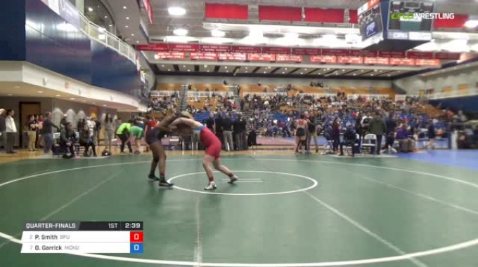 191 lbs Quarterfinal - Payten Smith, Simon Fraser University vs Destane Garrick, McKendree University