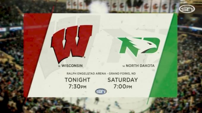 Wisconsin vs North Dakota | NCHC