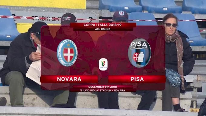 Novara vs Pisa