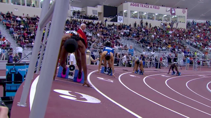 2018 NCAA Indoor Women's 400m, Heat 2 - Kentucky's Sydney McLaughlin Just Misses NCAA Record