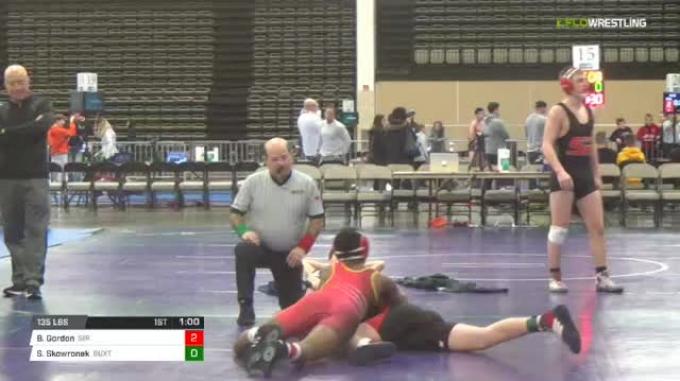 135 lbs Rr rnd 5 - Brian Gordon, Sir Ms vs Spencer Skowronek, Buxton Redbeards Ms