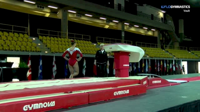 Shallon Olsen - Vault, CANADA - 2018 International Gymnix