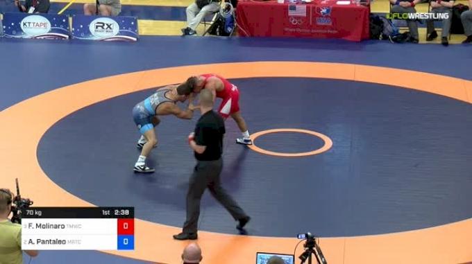 70kg Semifinal: Frank Molinaro, Titan Mercury vs Alec Pantaleo, MichiganRTC
