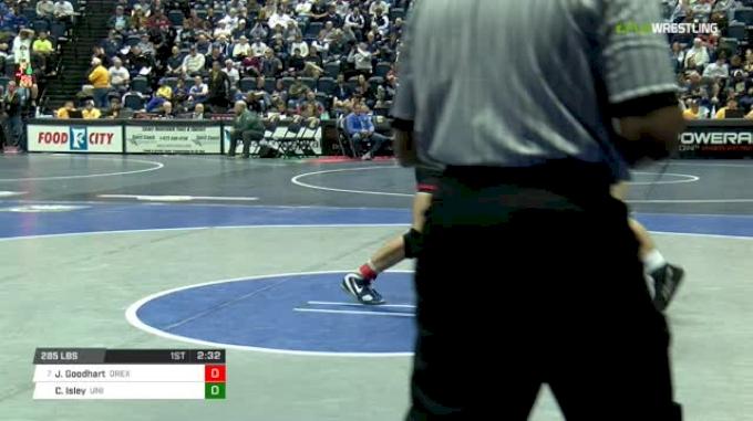 285 lbs Round of 16 - Joey Goodhart, Drexel vs Carter Isley, Northern Iowa