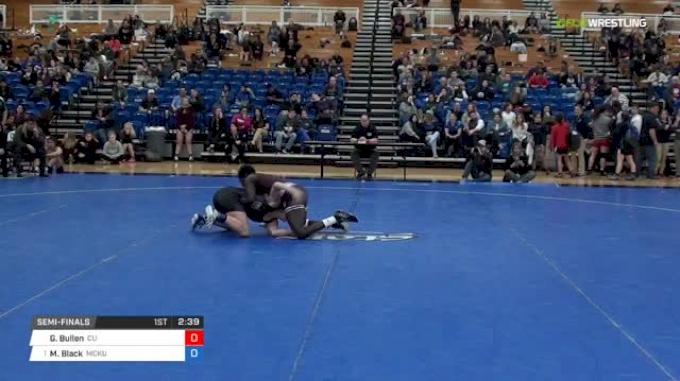 130 lbs Semifinal - Grace Bullen, Campbellsville University W vs Megan Black, McKendree University