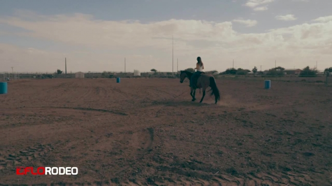 Watch Carman Pozzobon's Last Practice Run Before NFR