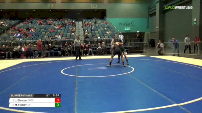 141 lbs Q - Jaydin Eierman, Missouri vs Matt Findlay, UN-Utah Valley