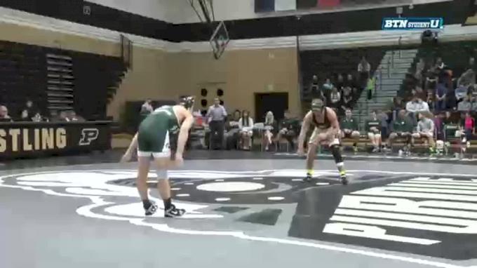157 lbs Griffin Parriott, Purdue vs. Jake Tucker, Michigan State