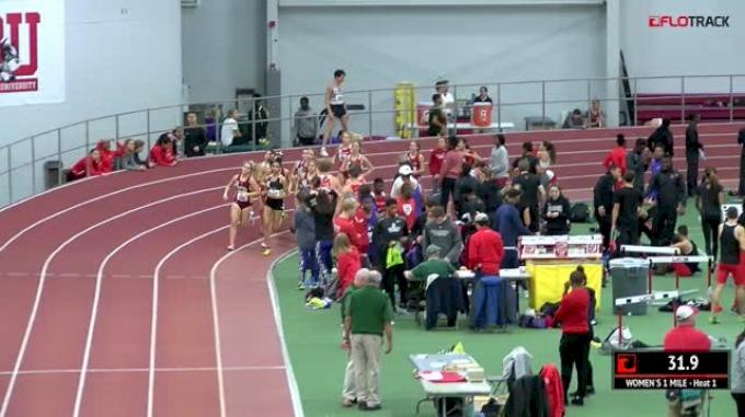 Women's Mile, Heat 1