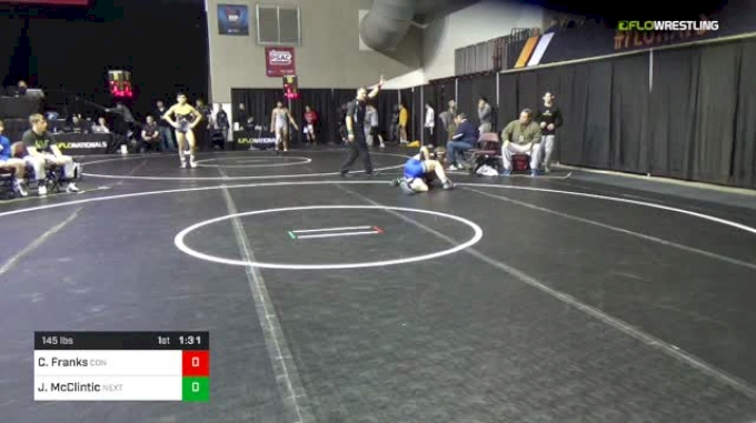 145 lbs Round Of 64 - Colin Franks, Connellsville vs Jakob McClintic, Next Level Wrestling