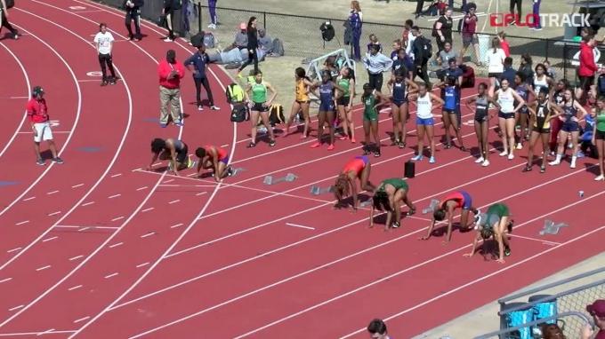 Women's 100m Hurdles, Heat 1