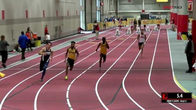Men's 200m, Heat 4