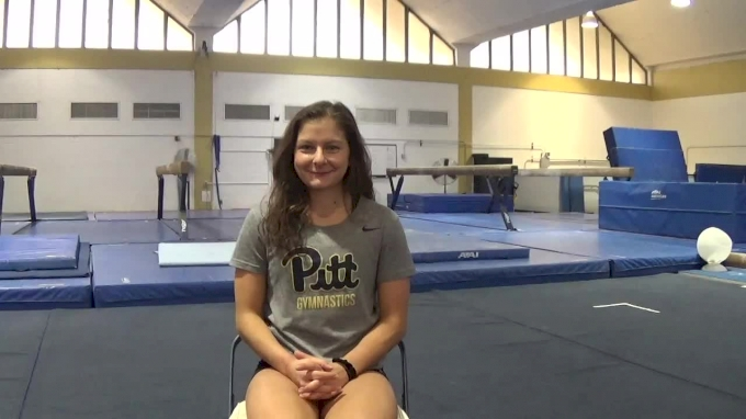 Catie Conrad Talks About Her Decision to Transfer to Pitt