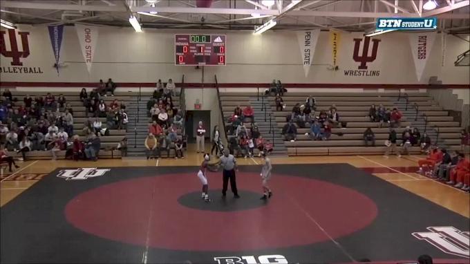 125 lbs m, Travis Piotrowski, Illinois vs Elijah Oliver, Indiana