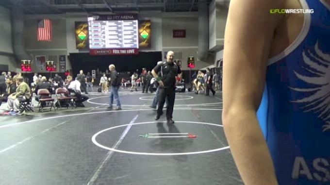 126 lbs Round Of 64 - AJ Burkhart, Athens vs Kyle Althenn, Ascend Wrestling