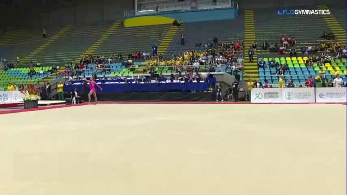 Grace McCallum - Floor, United States - 2018 Pacific Rim Championships