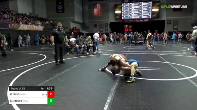 113 lbs Round Of 32 - Koen Kish, Quest vs Shawn Moore, Golden Bears