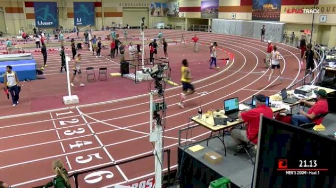 Men's 200m, Heat 3
