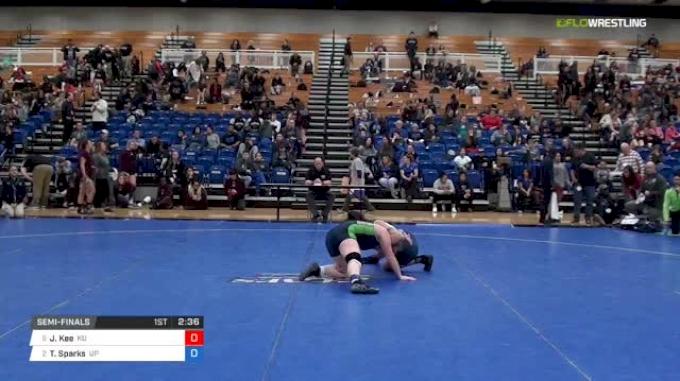 155 lbs Semifinal - Jessica Kee, King University W vs Tatum Sparks, University Of Providence