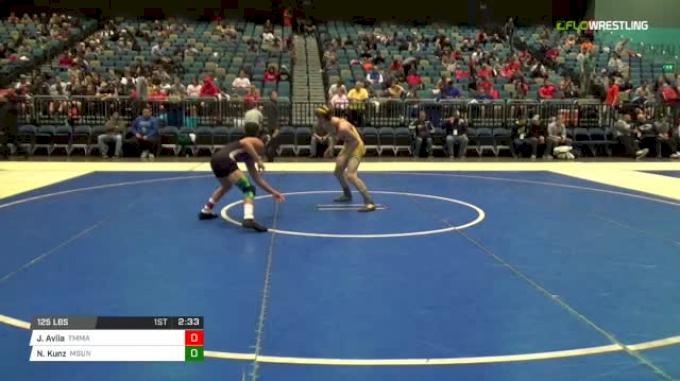 125 lbs Round of 64 - Joel Avila, Tru MMA vs Nick Kunz, MSU-Northern