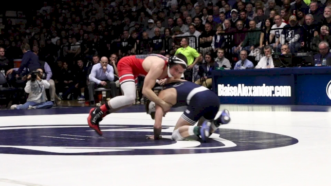 125 m, Nathan Thomasello, OSU vs Carson Kuhn, PSU