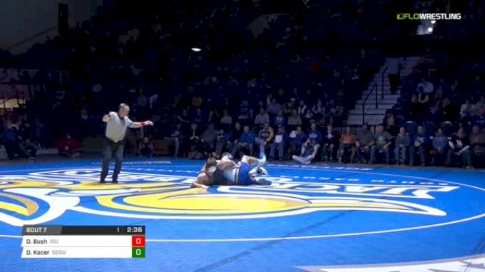 174 lbs Danny Bush , ISU vs David Kocer, SDSU