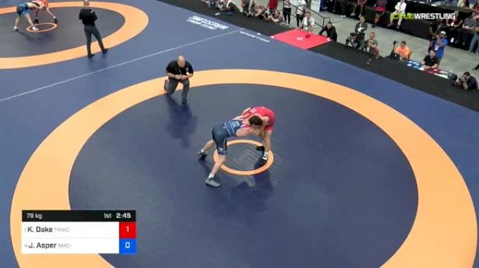 79 kg Semis - Kyle Dake, TMWC vs Joshua Asper, Navy-Marine Corps RTC