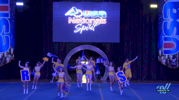 Angelo State University [2018 Large Co-Ed Show Cheer 4-Year College Finals ] USA Collegiate Championships