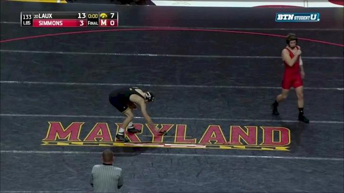 141 m, Carter Happel, Iowa vs Ryan Diehl, Maryland