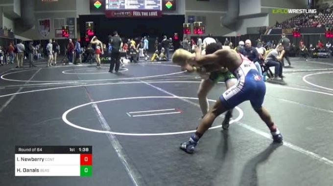 152 lbs Round Of 64 - Isaiah Newberry, Control Wrestling Academy vs Hadyn Danals, Beast Mode