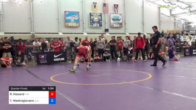 55kg Quarter: Robert Howard, TMWC vs Trevor Mastrogiovanni, Blairstown WC