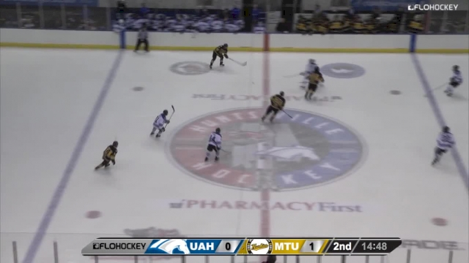 Highlights: Michigan Tech Opens WCHA Play With 2-1 Over Alabama Huntsville