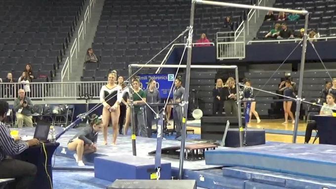 Courtney Bezold- Bars (9.675), EMU- 2017 Michigan vs. EMU Intersquad